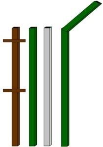 изготовление металлические столбы в Балахне