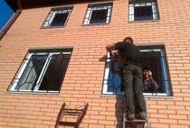 Монтаж решеток в Балахне