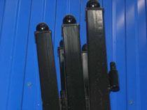 монтаж металлические столбы в Балахне