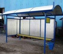 Изготовление автобусных остановок г.Балахна