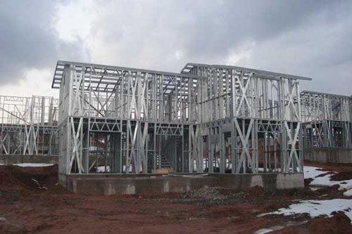 Здания на основе облегчённого металлического каркаса в Балахне